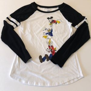 Disney Mickey and friends long sleeve top